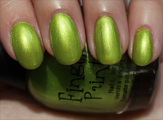 FingerPaints-Guggen-I'm-Lime-Review-Swatches