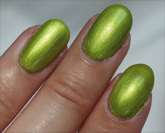 FingerPaints-Guggen-I'm-Lime-Swatch-Pictures-Review