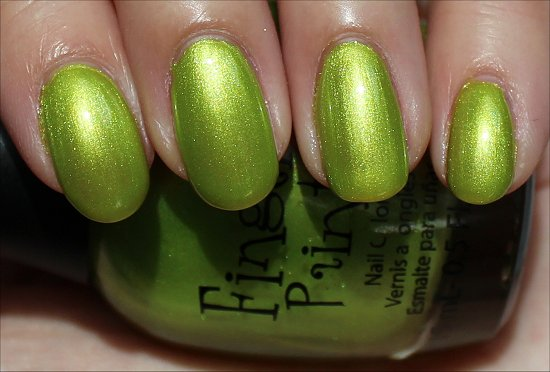 FingerPaints-Guggen-I'm-Lime-Swatch-Review