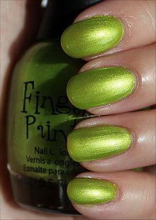 FingerPaints-Guggen-I'm-Lime-Swatches-Review