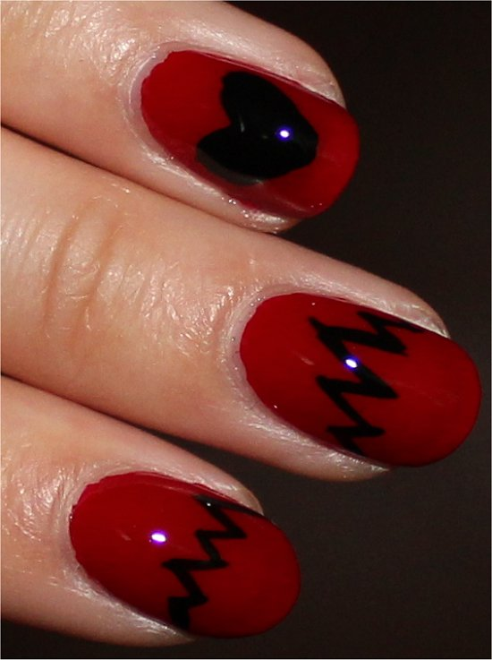 Heart Nails Nail Art