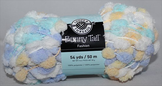 Loops & Threads Bunny Tail Pom Pom Yarn