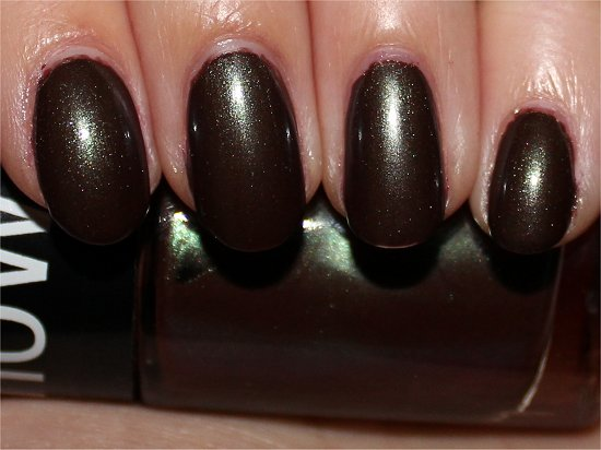 Maybelline Downtown Brown Swatch, Review & Pics