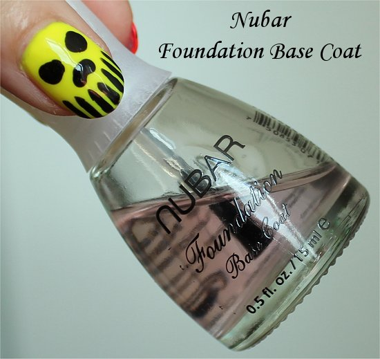 Nubar Foundation Base Coat Review & Photos