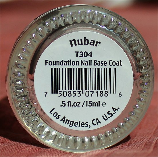 Nubar Foundation Nail Base Coat Review & Pictures