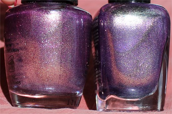 OPI It's My Year vs Zoya Daul Comparison Photos