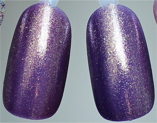 OPI It's My Year vs Zoya Daul Comparison Swatches Natural Light