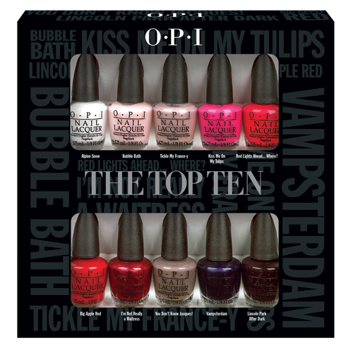 Opi Bond Ettes Amp Opi Top Ten Mini Nail Polishes Press Release Amp Promo Pictures Swatch And Learn