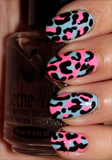 Pink-Blue-Leopard-Nails-Nail-Art-Swatches
