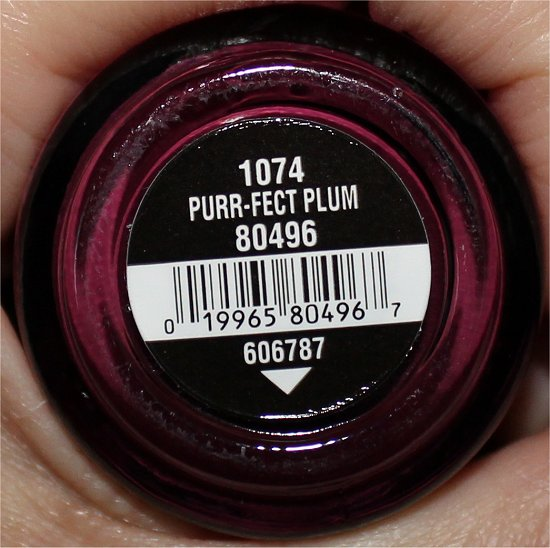 Purr-fect Plum China Glaze On Safari Collection