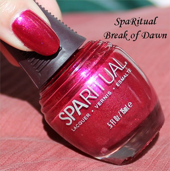 SpaRitual Break of Dawn Swatches & Review