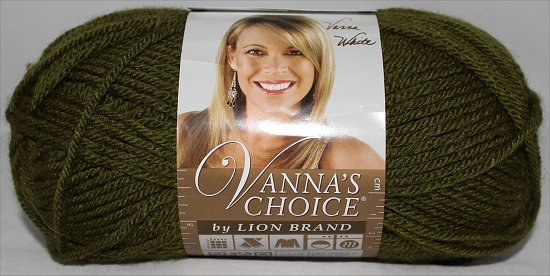 Vanna's Choice by Lion Brand Yarn Green