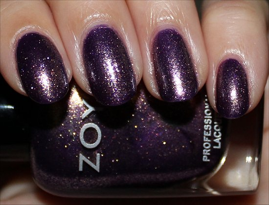Zoya NYFW 2012 Collection Swatches & Review Daul