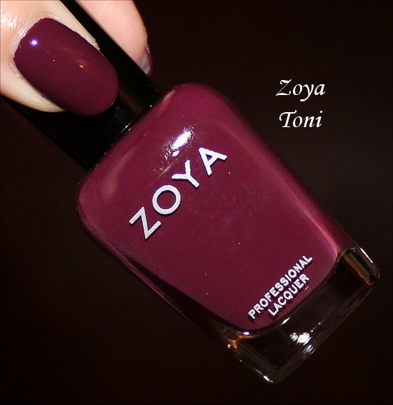 Zoya Toni NYFW Collection Swatches & Review