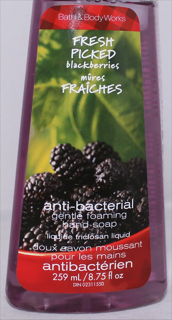 Bath &amp; Body Works Fresh Picked Blackberries Review &amp; Photos