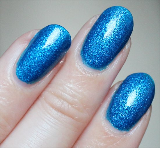 Blue Sparrow by China Glaze