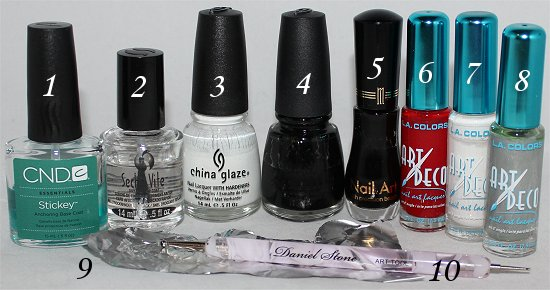 Bride-of-Frankenstein-Nail-Art-Tutorial