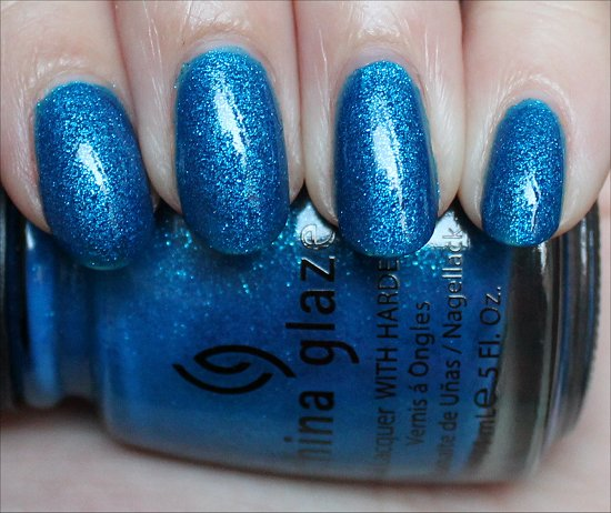 China Glaze Blue Sparrow Swatch &amp; Photos