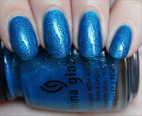 China Glaze Blue Sparrow Swatch & Pictures
