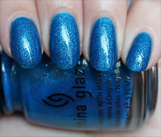 China Glaze Blue Sparrow Swatch &amp; Review