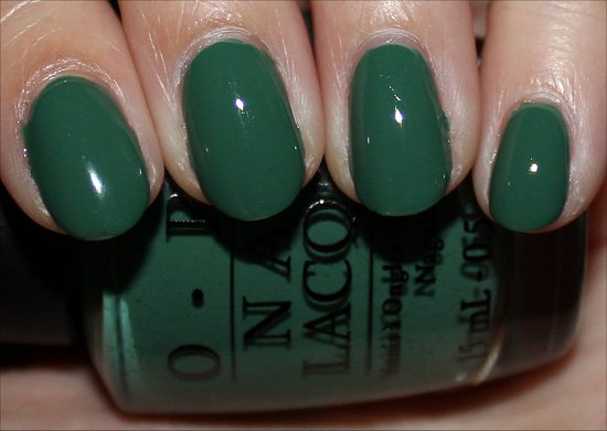 Don't Mess with OPI Swatch & Review