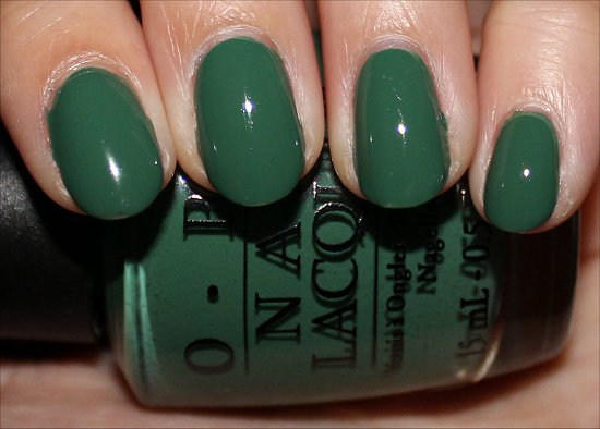 Don't Mess with OPI Swatches & Review