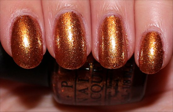 Golden Eye by OPI Swatch & Review