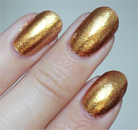 GoldenEye OPI Swatch & Review