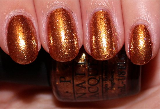 GoldenEye by OPI Swatches & Photos