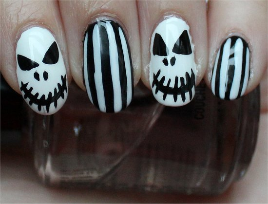 Halloween Nails Nail Art Tutorial