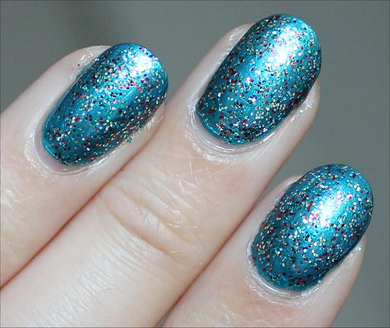 Kardashing through the Snow Nicole by OPI Swatch & Review