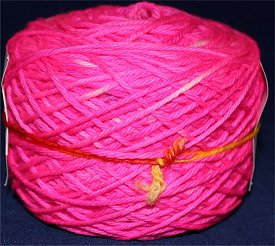 Neon Pink Yarn Indie Hand Dyed Merino Wool Yarn smaller