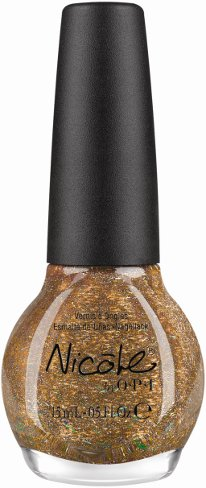 Nicole by OPI A Gold Winter's Night Nicole by OPI Kardashian Kolor Holiday 2012
