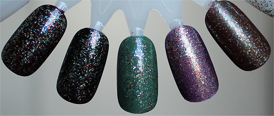 Nicole by OPI Kardashing through the Snow Layering Swatches