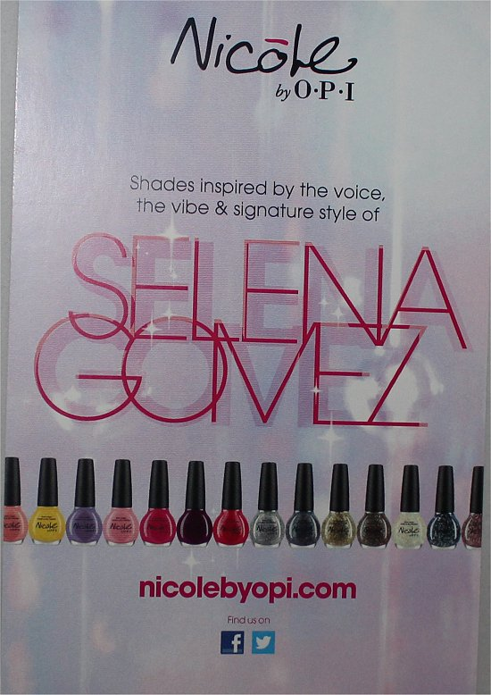 Nicole by OPI Selena Gomez Collection