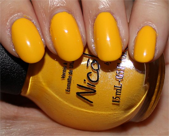 Nicole by OPI Selena Gomez Hit the Light Swatch
