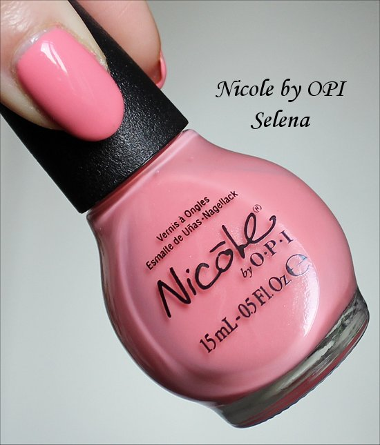 Nicole by OPI Selena Selena Gomez Collection 2013