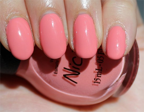 Nicole by OPI Selena Swatch & Review