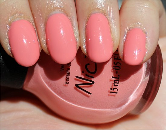 Nicole by OPI Selena Swatch