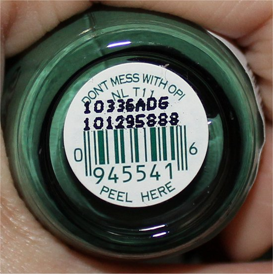 OPI Don't Mess with OPI Review