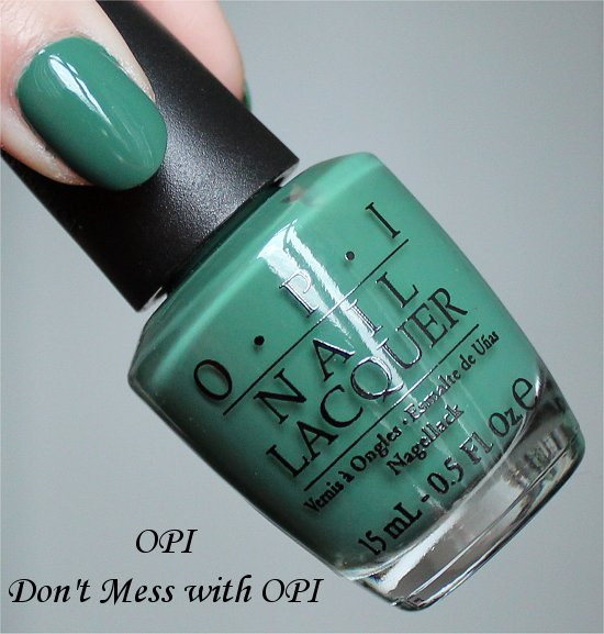 OPI Don't Mess with OPI Swatch