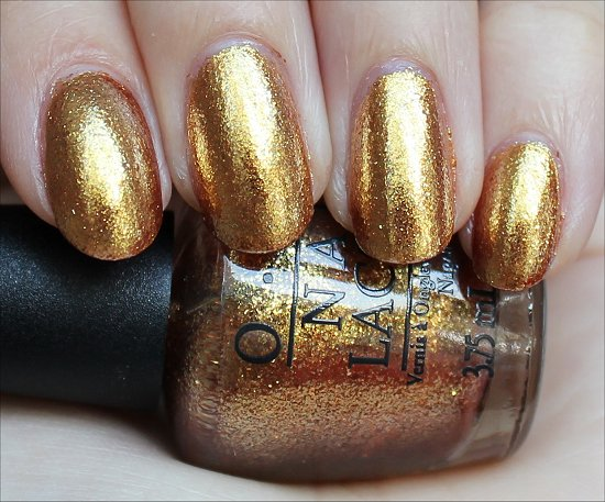 OPI Golden Eye Swatch The Bondettes Set