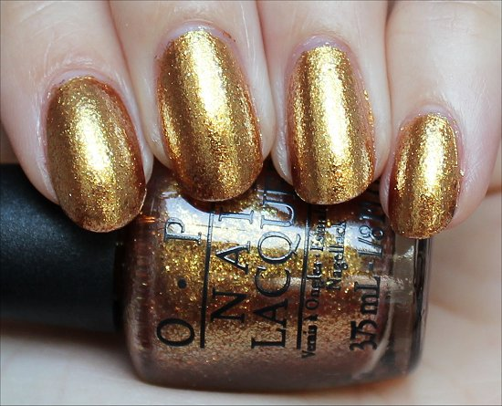 OPI James Bond Collection Golden Eye