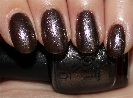 OPI James Bond Skyfall Collection The World Is Not Enough Swatch