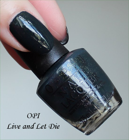 OPI Live and Let Die OPI Skyfall
