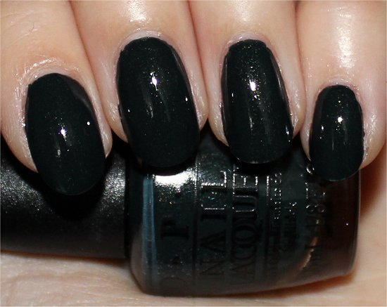 OPI Live and Let Die Skyfall James Bond Collection