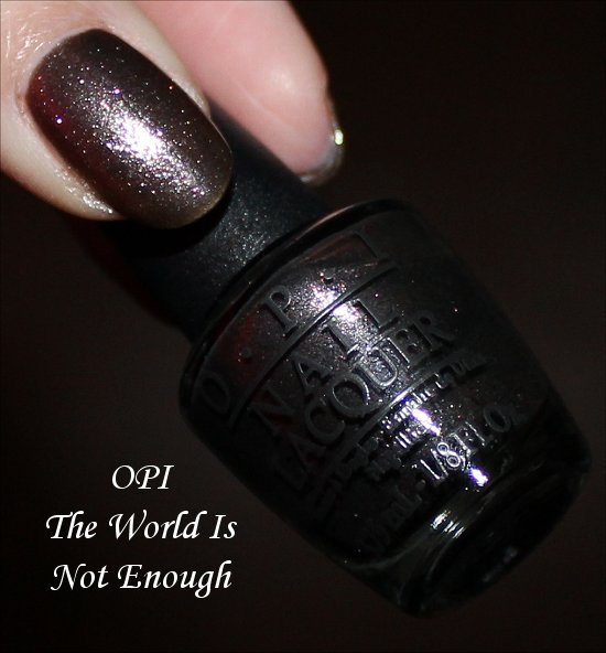 OPI Skyfall Collection The World Is Not Enough Review & Swatches