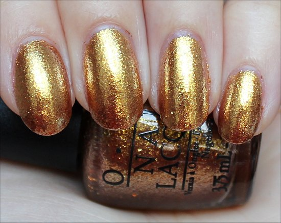 OPI The Bondettes GoldenEye Swatch