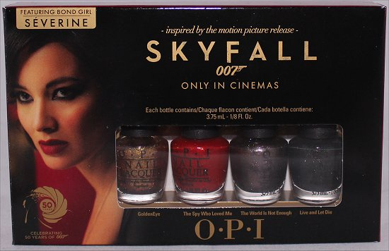 OPI The Bondettes Mini Nail Polish Set