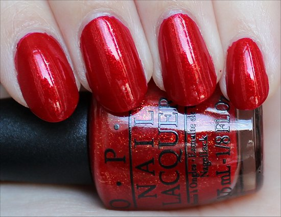 OPI The Spy Who Loved Me Swatch & Review